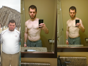 My transformation currently.