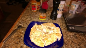 Here is the seasoning behind the frittata that I used on the chicken.