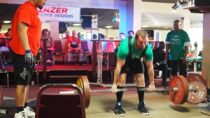 Deadlifting 452lbs at 178 body weight.